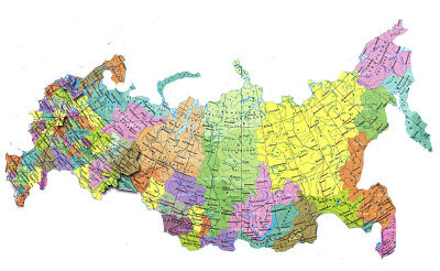 Карта России Яндекс - города, области, дороги, маршруты