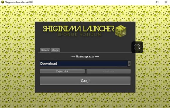 Shiginima Launcher Minecraft